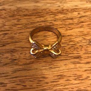 J. Crew bow ring